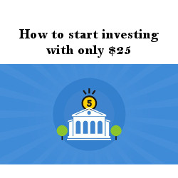 How to start investing with only $25